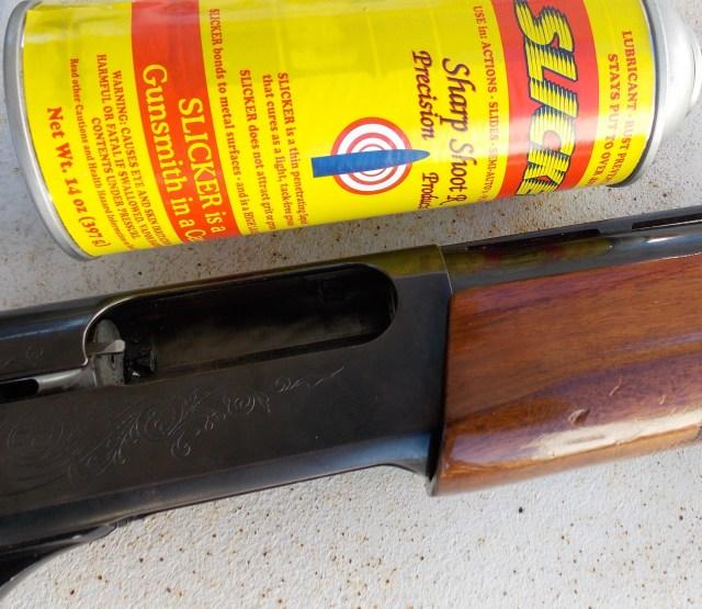 Shotgun lubrication