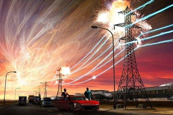 EMP over power lines