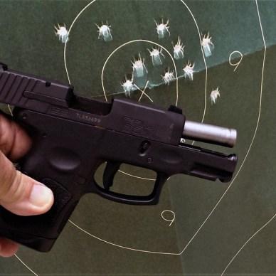Taurus 9mm semi-automatic handgun