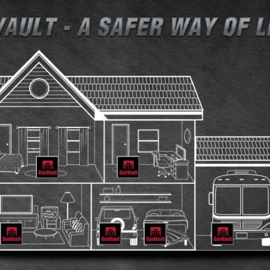GunVault Home diagram