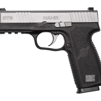 Kahr ST9 pistol left profile