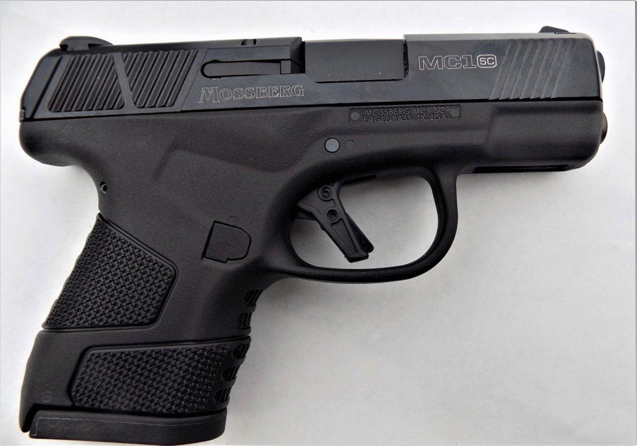 Mossberg MC1 pistol right profile black