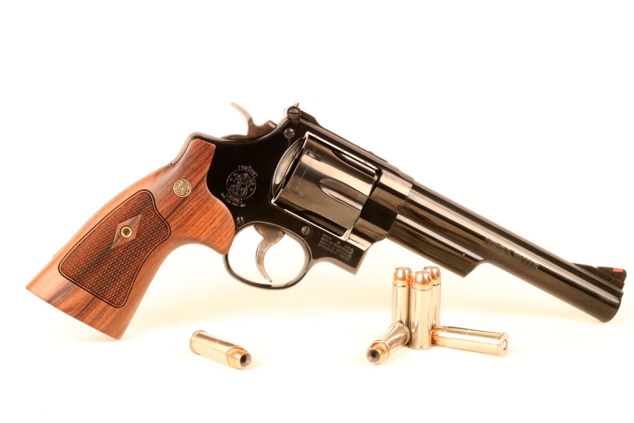 Smith and Wesson Model 29 .44 Magnum right profile