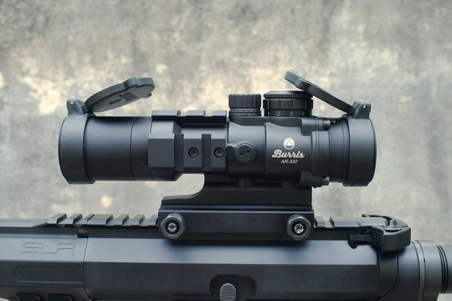 1x4x32 riflescope on an AR-15