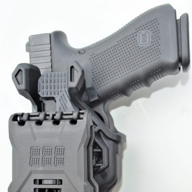 Blackhawk T-Series Holster - side view