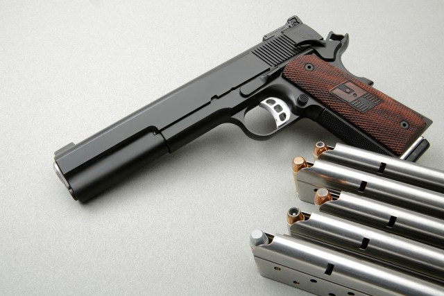 The Nightwak Heinie is probably the ultimate expression of this caliber on the 1911 platform.
