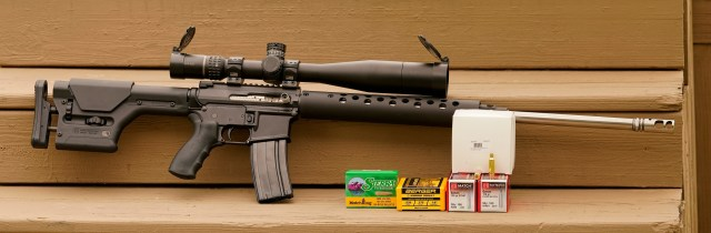 ar-15 with ammo