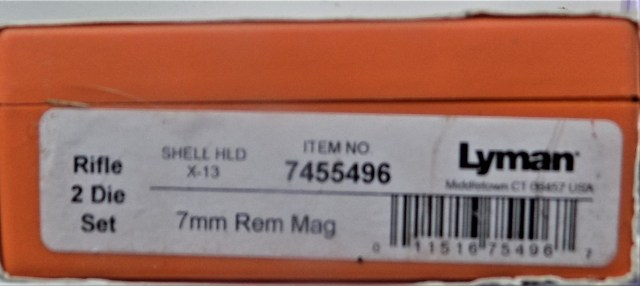 Lyman 7mm Rem Mag
