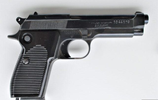 Helwan clone of the Beretta 951