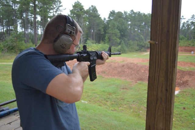 Colt AR-15 in action