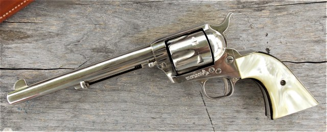colt SAA - best revolvers of all time