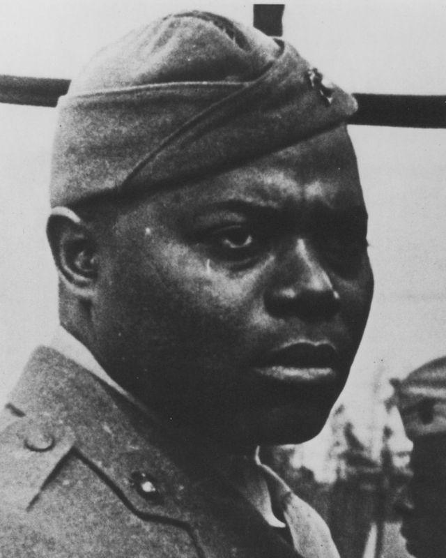 Hashmark Johnson - Marine Corps Legend