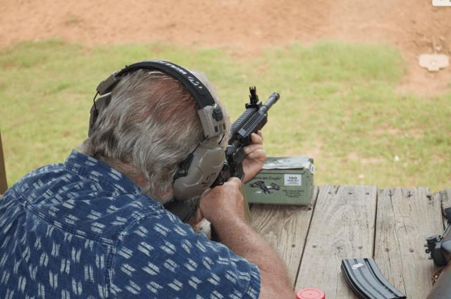 rifle offhand - benchrest