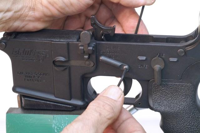 AR-15 triggers - locking pins