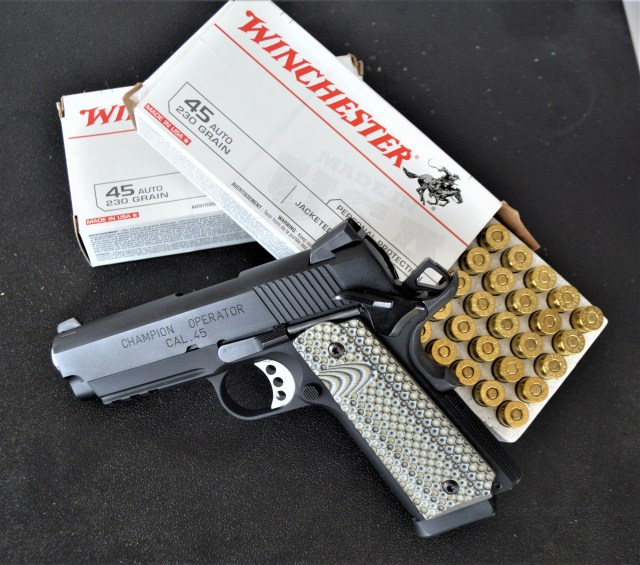 winchester ammo - handgun weight