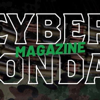 Cyber Monday - Cyber Magazine Monday