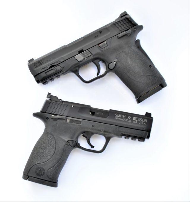 M&P9 EZ vs Shield .22