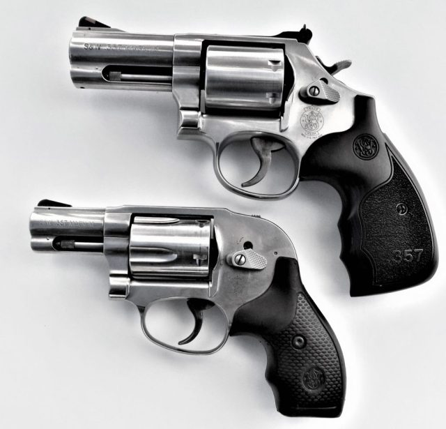 Rubber grips - recoil control