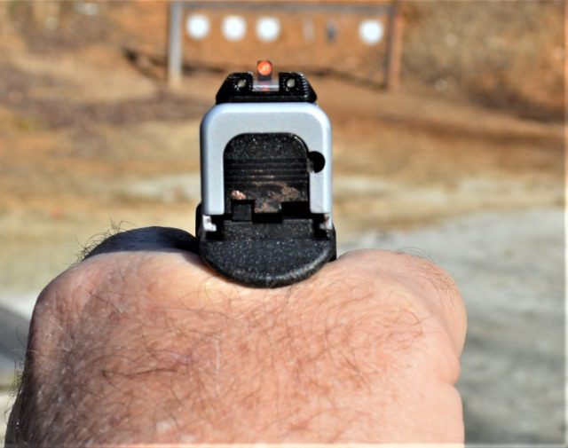 low-bore axis - gun grip and angle