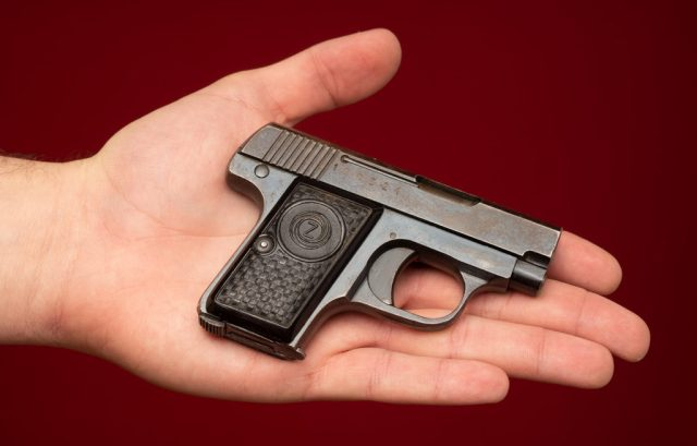 .25 ACP in hand