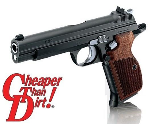 SIG P210 Legend, Top 10 Handguns