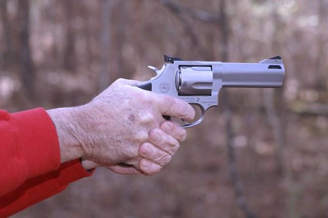 Handgun Hold - Reduce Recoil