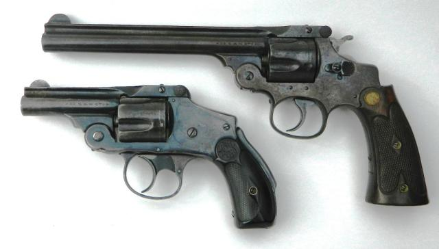 Smith and Wesson Hand Ejectors - Hinged Frame Revolvers