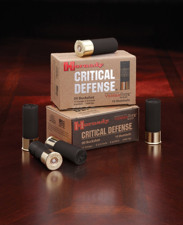 shotgun training - hornady critical defense