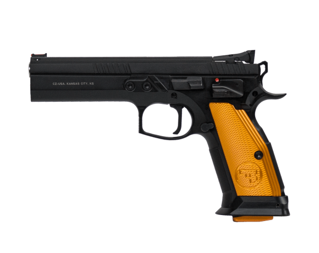 long-slide pistols - CZ 75