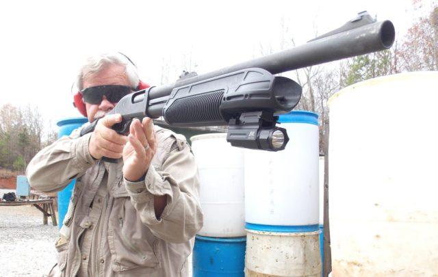shotgun training - tactical load