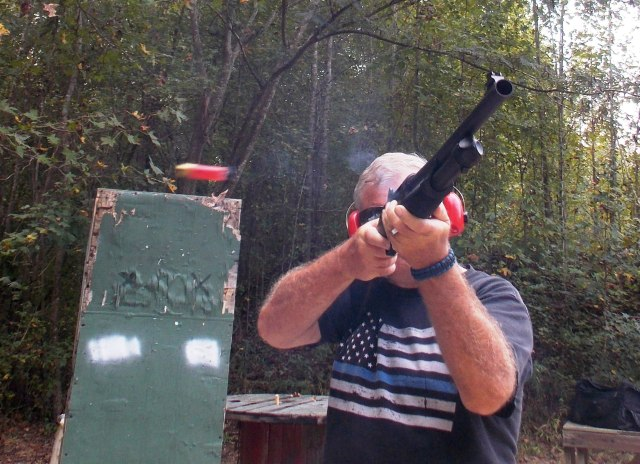 shotgun training - recoil