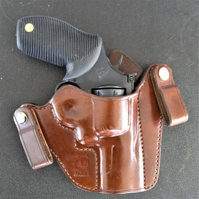 Taurus 692 in Brown Leather Holster