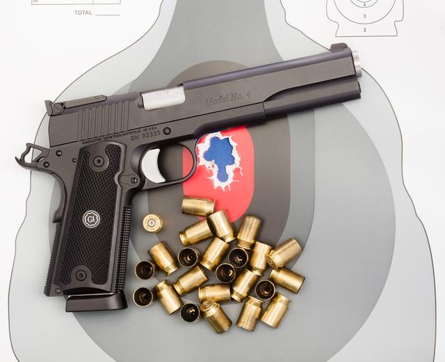 Long-Slide Pistols - GI Model 4