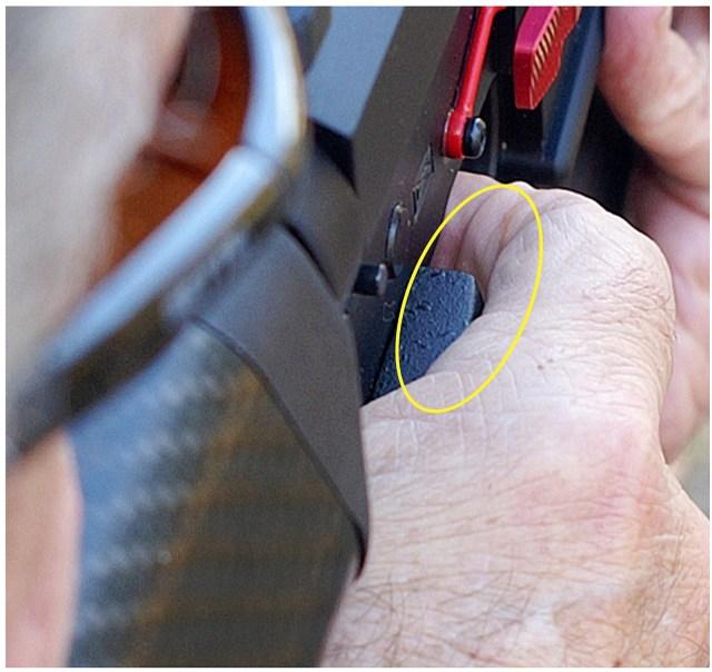 Improper Grip Gap on AR-15