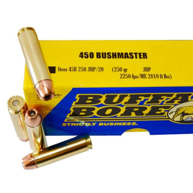 450 Bushmaster Buffalo Bore Ammo