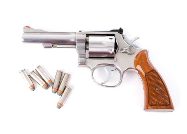 Stainless .38 Special Revolver
