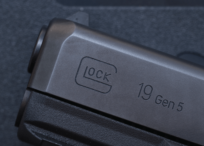 Close up GLOCK 19 Gen 5