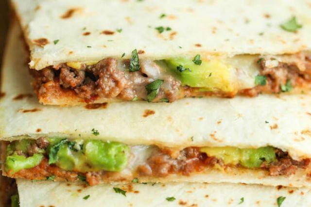 Cheesy Avocado Quesadillas Meals
