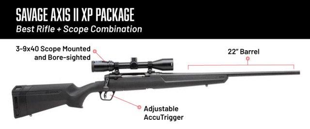 6.5 creedmoor rifles - savage axis ii xp