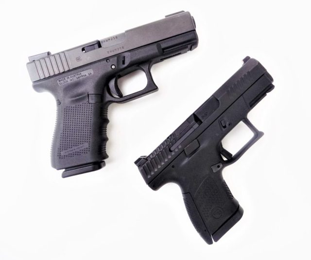 GLOCK and CZ Handguns
