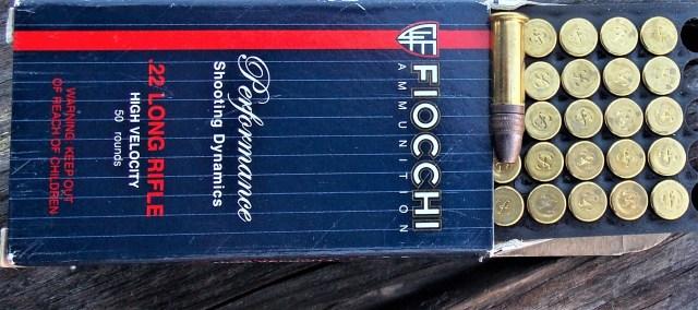 Fiocchi .22 LR Ammunition