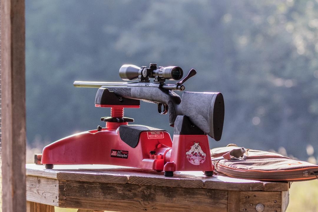 Remington 700 Rifle on Benchrest