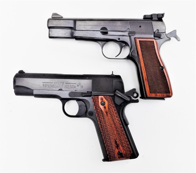 Colt 1911 and Browning Hi-Power