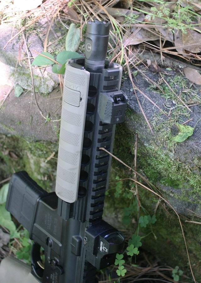 Mantis X10 on AR-15 Pistol