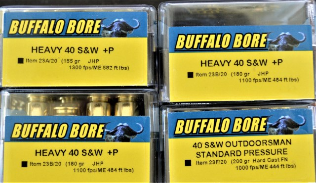 Buffalo Bore .40 S&W Caliber