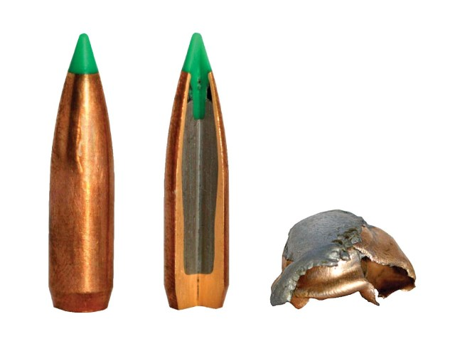 Federal Green Tip Projectile