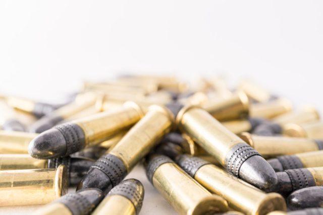 .22 LR Ammo Pile