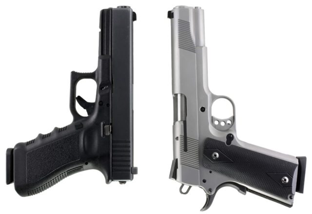 GLOCK 20 and 1911 Bear Gun Pistols - bear country