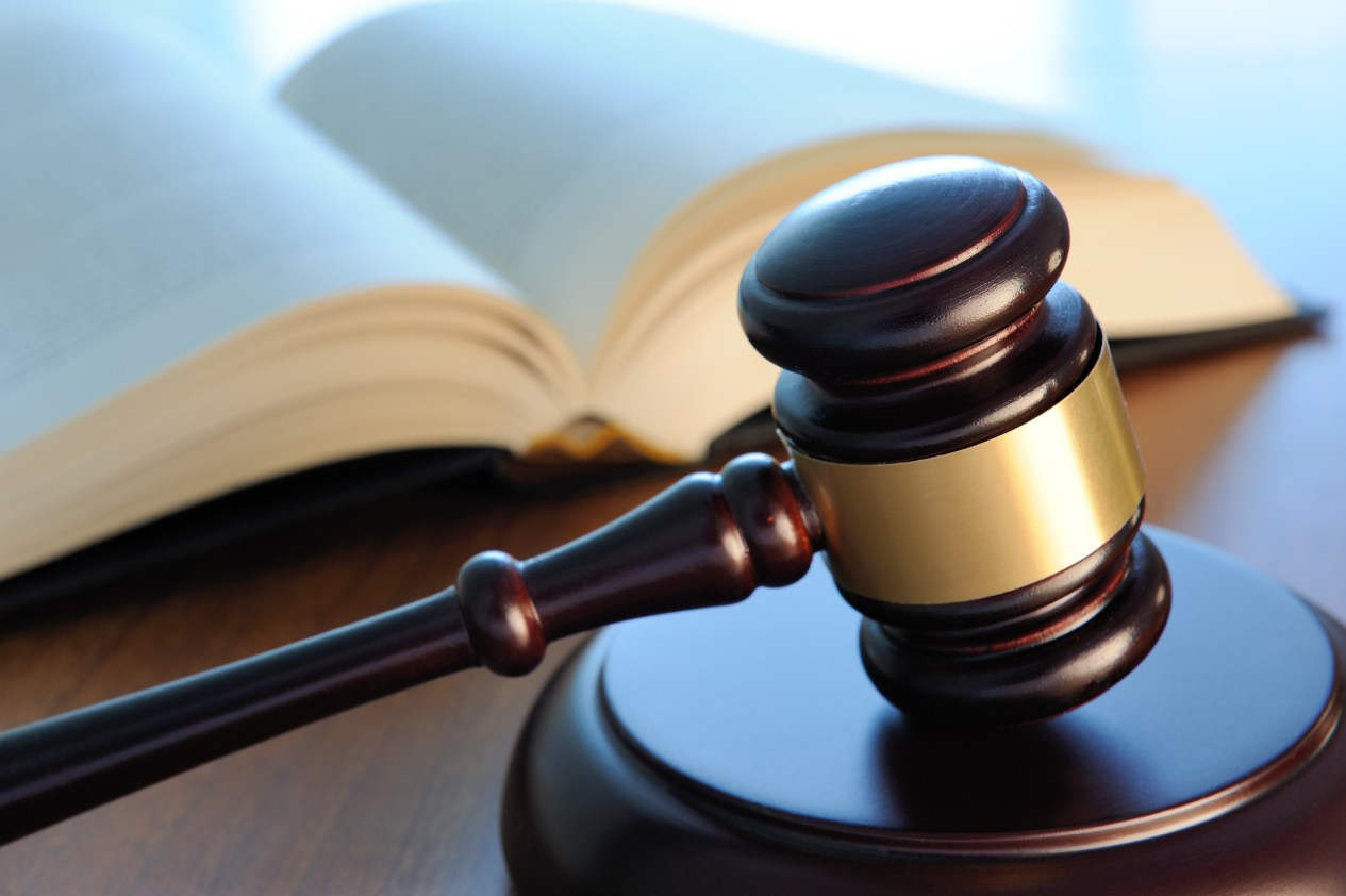 California Magazine Ban Lifted Gavel and Open Book