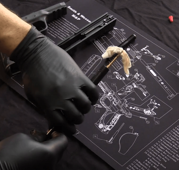 Cleaning Smith and Wesson M&P Barrel